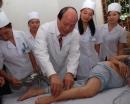 Châm cứu giúp giảm đau như dùng morphin